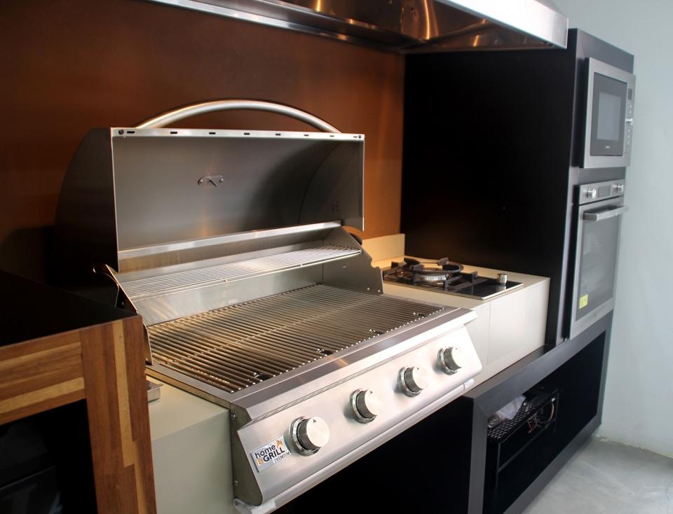 36 Gas Range >> HOME E GRILL PREMIUM - 4 Queimadores - 100% INOX 304 - FEITA PARA EMBUTIR | Espaço Gourmet & Cia ...