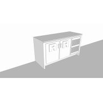 Balcão Refrigerado Horizontal   2P 306L - Compacto