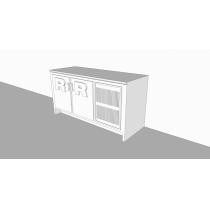 Balcão Refrigerado Horizontal   2P 442L - Expandido