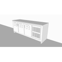 Balcão Refrigerado Horizontal   3P 680L - Expandido