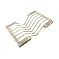 Escorredor de Pratos Flat Fabrinox canal de utensílos