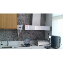 CB200 - Coifa Caixa Baixa INOX 430 - Largura até 2,00m