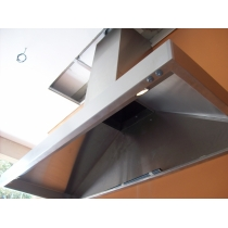 PR150 - Coifa Pirâmide INOX 430 - Largura até 1,50m