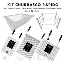 KIT R�pido - Churrasco no Carv�o