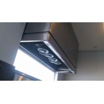 CF150S - Coifa Caixa INOX 304 - Largura até 1,50m