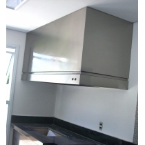 CF300 - Coifa Caixa INOX 430 - Largura até 3,00m
