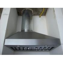 PR250S - Coifa Pirâmide INOX 304 - Largura até 2,00m