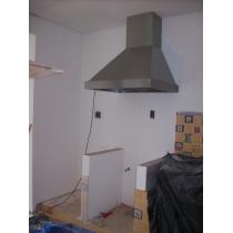 PR200S - Coifa Pirâmide INOX 304 - Largura até 2,00m