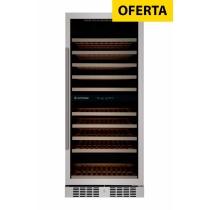 Adega Elettromec 84 garrafas - Embutir - Duas zonas de temperatura - 220v