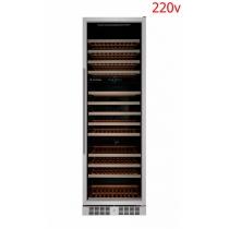 Adega Elettromec 140 garrafas - Embutir - Três zonas de temperatura - 220v