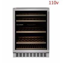 Adega Elettromec 45 garrafas - Embutir - Duas zonas de temperatura - 110v