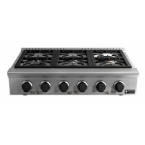 RANGE TOP 6 BOCAS 24.000 watts - Black