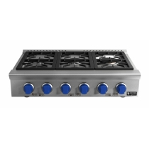 RANGE TOP 6 BOCAS 24.000 watts - Blue