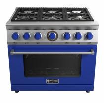 Fogão Wictory Gourmet 6 Bocas 90cm - Blue