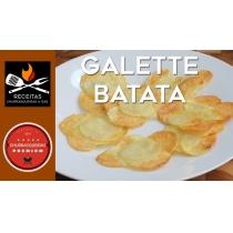 GALETTE DE BATATA ESPECIAL PARA RECHEAR LANCHES