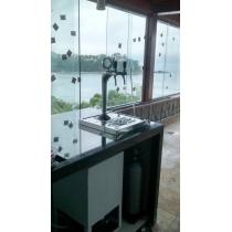 Instalação de chopeira naja 2 vias Ubatuba SP