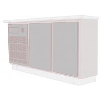 Balcão Refrigerado Horizontal 2 Portas 245L