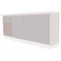 Balcão Refrigerado Horizontal 3 Portas 375L