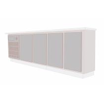 Balcão Refrigerado Horizontal 4 Portas 515L