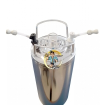 Barril Auxiliar Para Chopeira 19 Litros - Refrigerante / Suco / Cerveja Artesanal