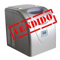 Máquina de Gelo Ice Maker Elettromec Portátil Prata 110