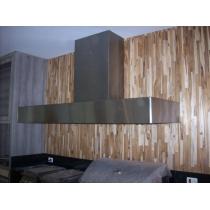 CB250 - Coifa Caixa Baixa INOX 430 - Largura até 2,50m