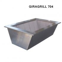 Caixa Braseiro para KIT ELEVGRILL GIRAGRILL 704 Cooktop
