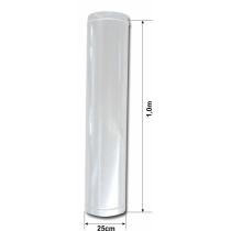 Duto para Exaustão - Reto - 1,0m x Ø 25cm - PINTADO BRANCO